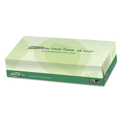 Marcal® PRO™ 100% Recycled Convenience Pack Facial Tissue