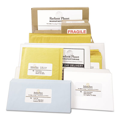 Avery® White Shipping Labels