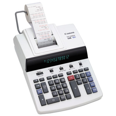 Canon® CP1200DII 12-Digit Commercial Desktop Printing Calculator