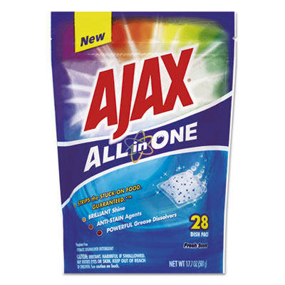 Ajax® All in One Automatic Dish Detergent Pacs