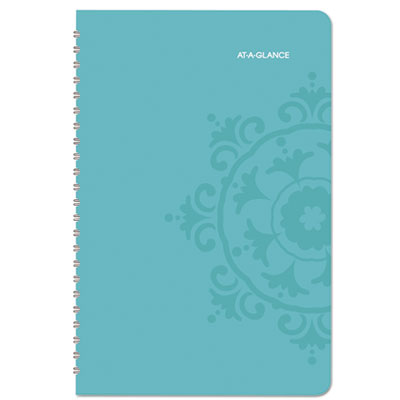 AT-A-GLANCE® Suzani Weekly/Monthly Appointment Book