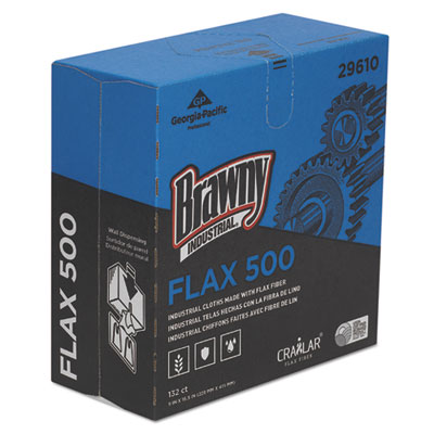 Brawny Industrial® FLAX Cleaning Cloths