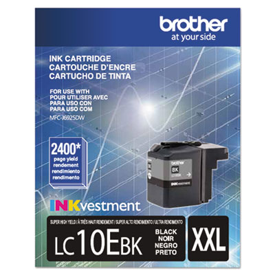 Brother® LC10EBK, LC10EC, LC10EM, LC10EY Ink