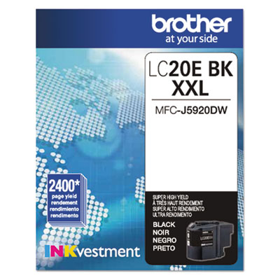 Brother® LC20EBK, LC20EC, LC20EM, LC20EY Ink