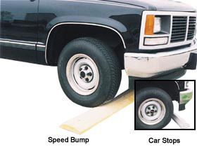 CAR STOPS & SPEED BUMPS