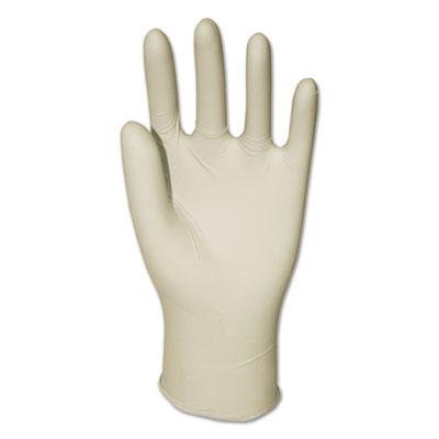 Boardwalk® General Purpose Powdered Latex Gloves