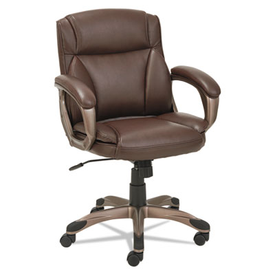 Alera® Veon Series Low-Back Leather Task Chair