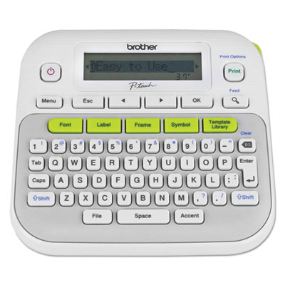 Brother® P-Touch® PTD210 Easy, Compact Label Maker