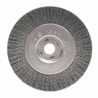 Weiler® Narrow Face Crimped Wire Wheels