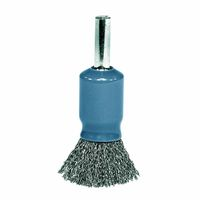 Weiler® Coated Cup Crimped Wire Solid End Brushes