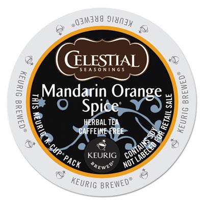 Celestial Seasonings® Mandarin Orange Spice® Herbal Tea K-Cups®