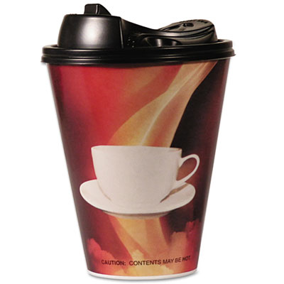 Boardwalk® Paper Wrapped Foam Hot Cups