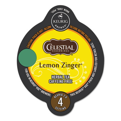 Celestial Seasonings® Lemon Zinger Herbal Tea Vue® Pack
