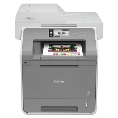 Brother® MFCL9550CDW Color Laser AIO with Wireless Networking and Duplexing