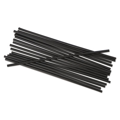 Boardwalk® Unwrapped Single-Tube Stir-Straws