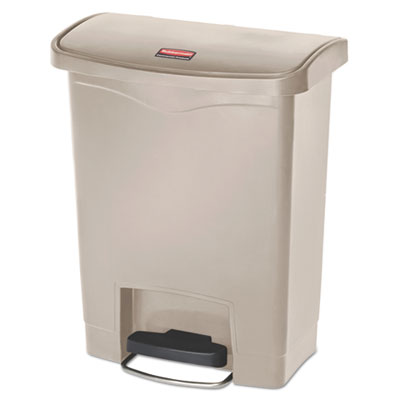 Rubbermaid® Commercial Slim Jim® Resin Step-On Container