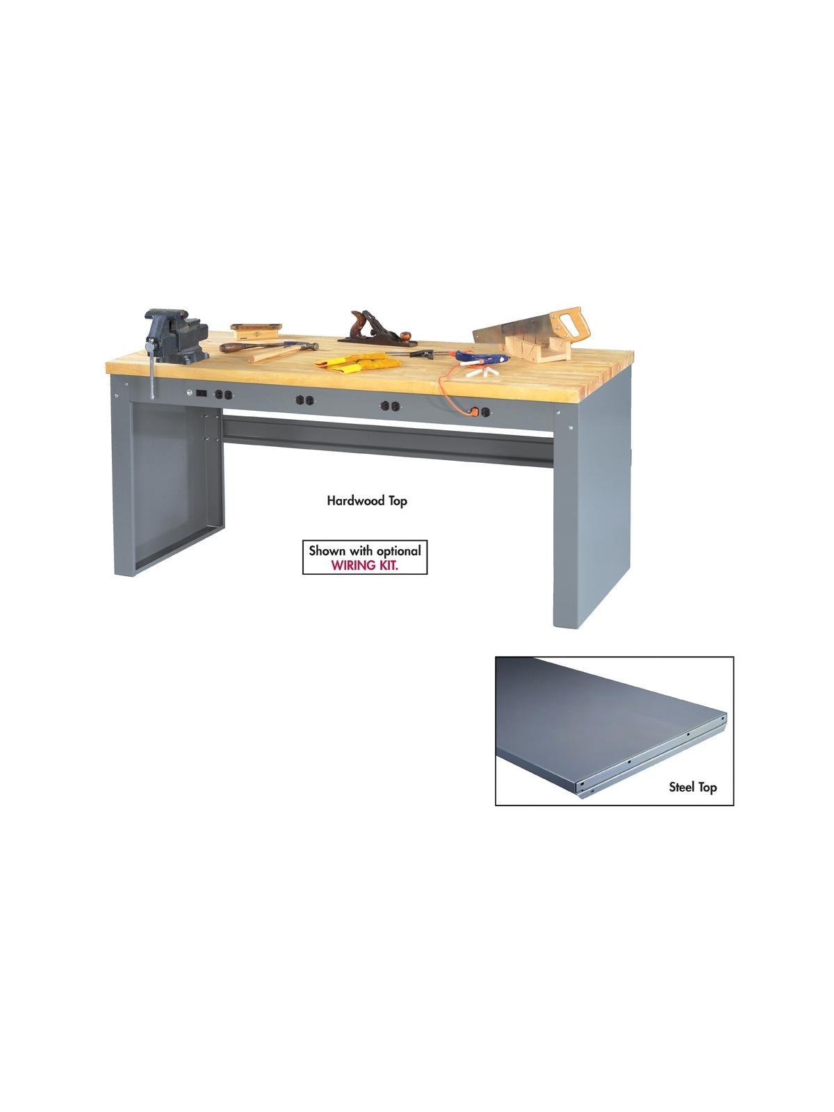 Tennsco Electronic Workbenches With Panel Legs At
