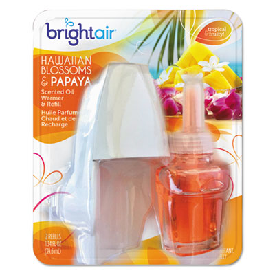 BRIGHT Air® Electric Scented Oil Air Freshener Warmer and Refill Combo