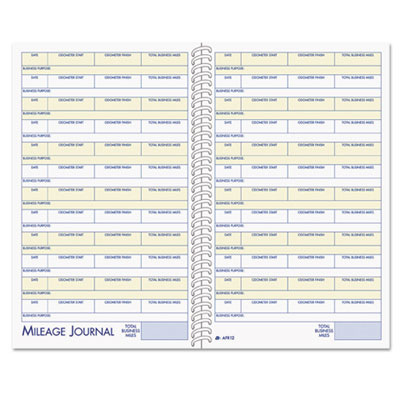Adams® Vehicle Mileage and Expense Book