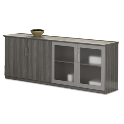 Mayline® Medina™ Series Low Wall Cabinet with Doors