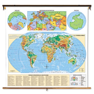 Advantus® Signature United States Wall Map