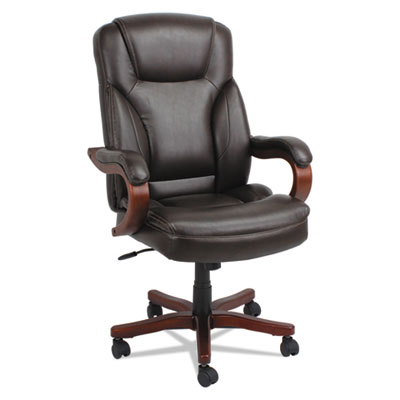 Alera® Transitional Series Executive Wood Chair