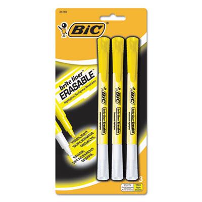 BIC® Brite Liner® Erasable Highlighters