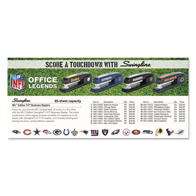 Swingline® 747® NFL Stapler