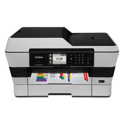 Brother® MFC-J6925DW Business Smart™ Pro Wireless Multifunction Printer with INKvestment Cartridges