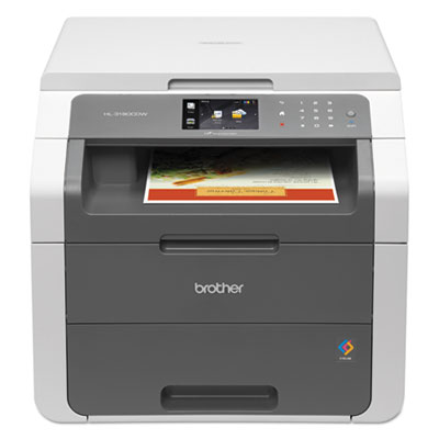 Brother® HL-3180CDW Digital Color Printer with Copying and Scanning