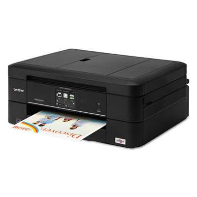 Brother® MFC-J680DW Work Smart™ Color Wireless Inkjet All-in-One Printer