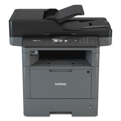 Brother® MFC-L5800DW Business Monochrome All-in-One Laser Printer