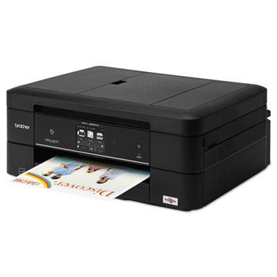 Brother® MFC-J885DW Work Smart™ Color Wireless Inkjet All-in-One Printer