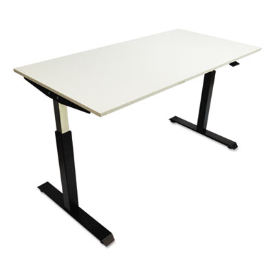 Alera® Pneumatic Height-Adjustable Table Base
