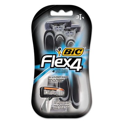 BIC® Flex 4® Disposable Men's Razor