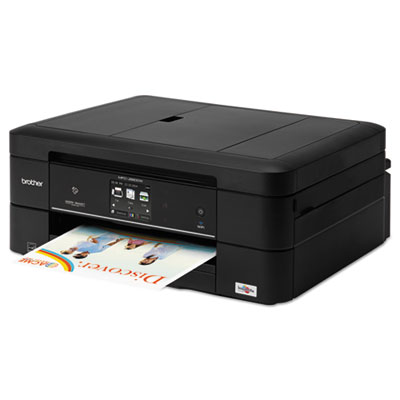 Brother® MFC-J880DW Work Smart™ Compact & Easy-to-Connect Color Inkjet All-in-One