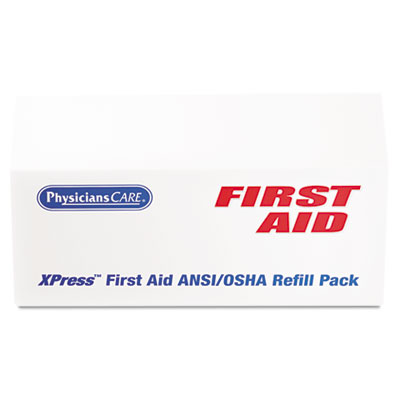 PhysiciansCare® by First Aid Only® Xpress First Aid™ First Aid Refill Pack