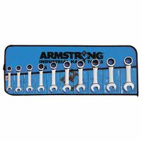 Armstrong Tools 10 Piece Geared Stubby Wrench Sets