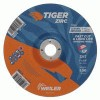 Weiler® Tiger Zirc Z24S Ceramic Infused Depressed Center Grinding Wheel