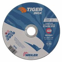 Weiler® Tiger Inox INOX60S Fast Cut and Long Life Thin Cutting Wheel