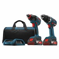 Bosch Power Tools 18V Cordless Drill Driver/Impact Driver Combo Kit