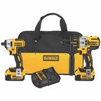 DeWalt® Brushless Hammerdrill & Impact Driver Combo Kit