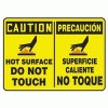 Accuform Signs® Adhesive Vinyl Safety Signs