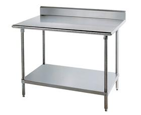 KMS SERIES STAINLESS STEEL WORKTABLES