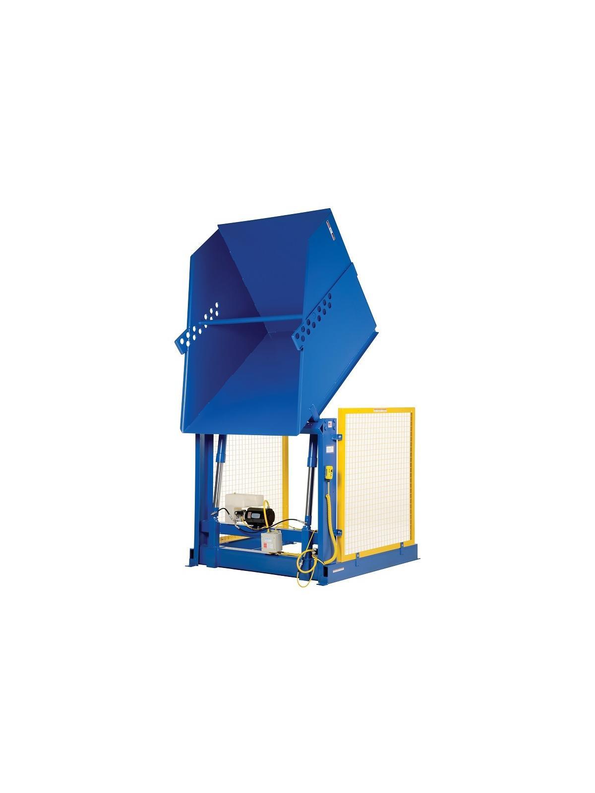 Vestil Box Dumper Gaylord Tipper Hydraulic Box Dumper