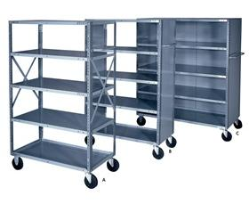 MOBILE SHELF CARTS