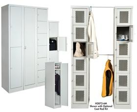QUICK SHIP SET-UP STYLISH LOCKERS