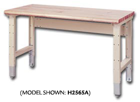 INDUSTRIAL QUALITY BENCHES · ADJUSTABLE WORK BENCHES
