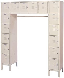 LOCKERACK 16 PERSON LOCKER