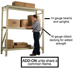 STORACK® HEAVY DUTY BULK STORAGE RACKS